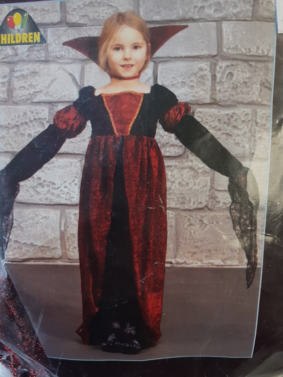GIRLS/HALLOWEEN/ CHILDS DELUXE VAMPIRESS