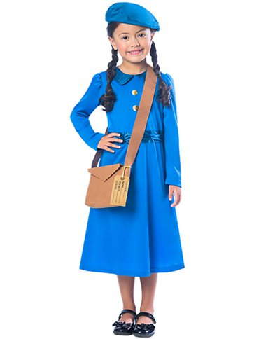 GIRLS/HISTORY/Evacuee Girl - Child Costume