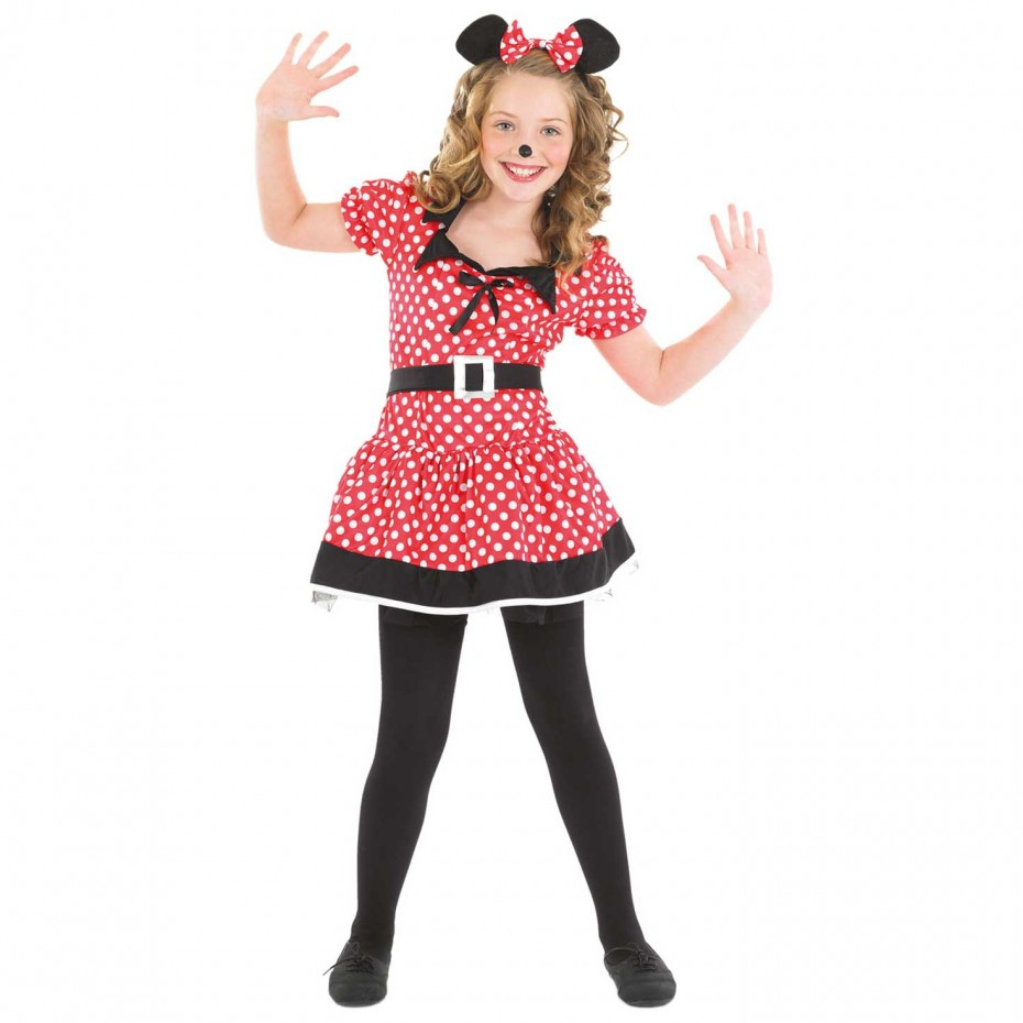 GIRLS/ FAIRYTALE/ KIDS MISSIE MOUSE COSTUME