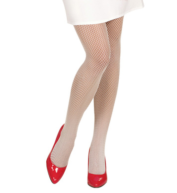ACCESSORIES/TIGHTS & STOCKINGS/ WHITE FISH NET