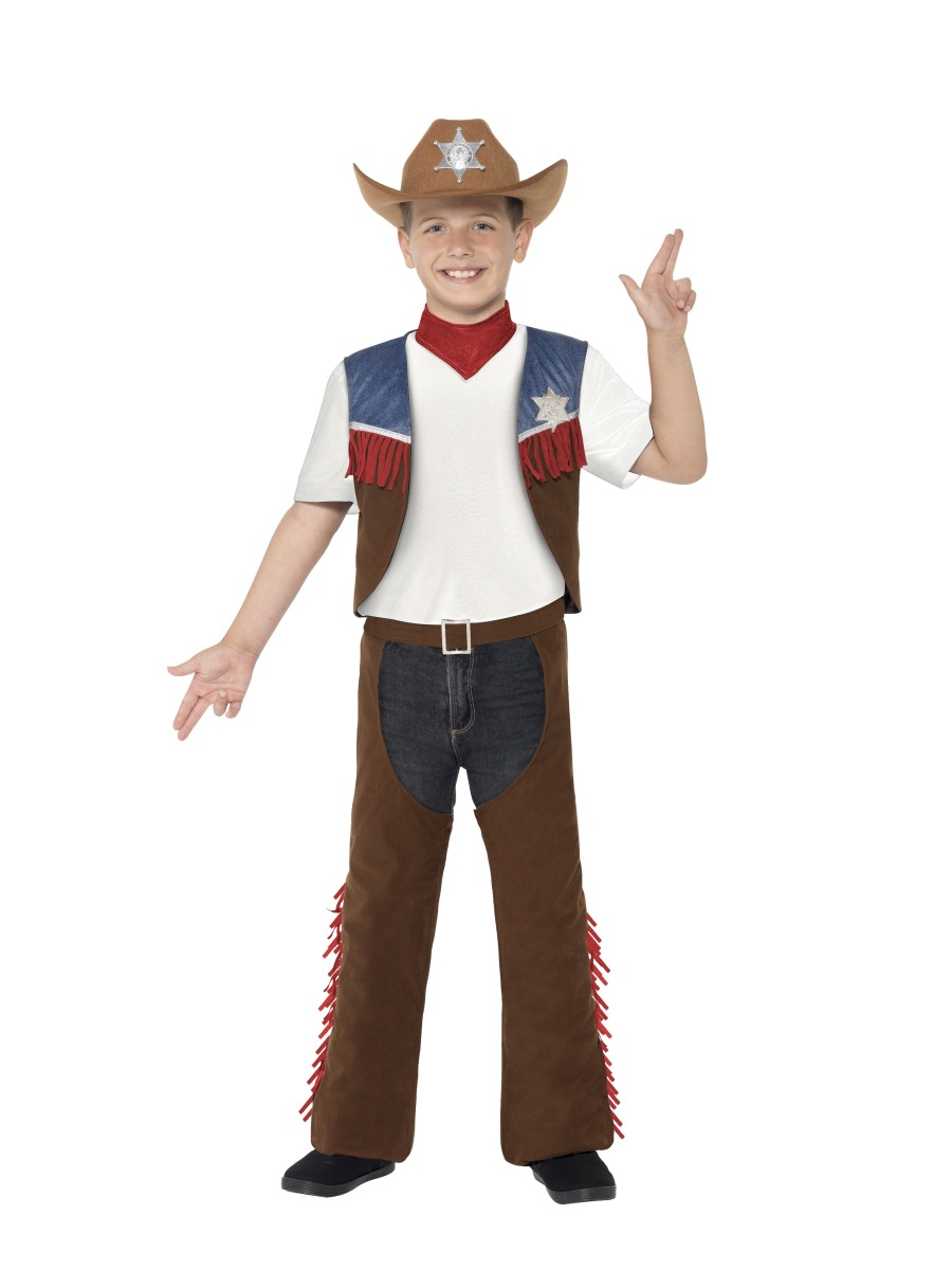 BOYS/COWBOYS & INDIANS/KIDS WESTERN SET AGE 7-9