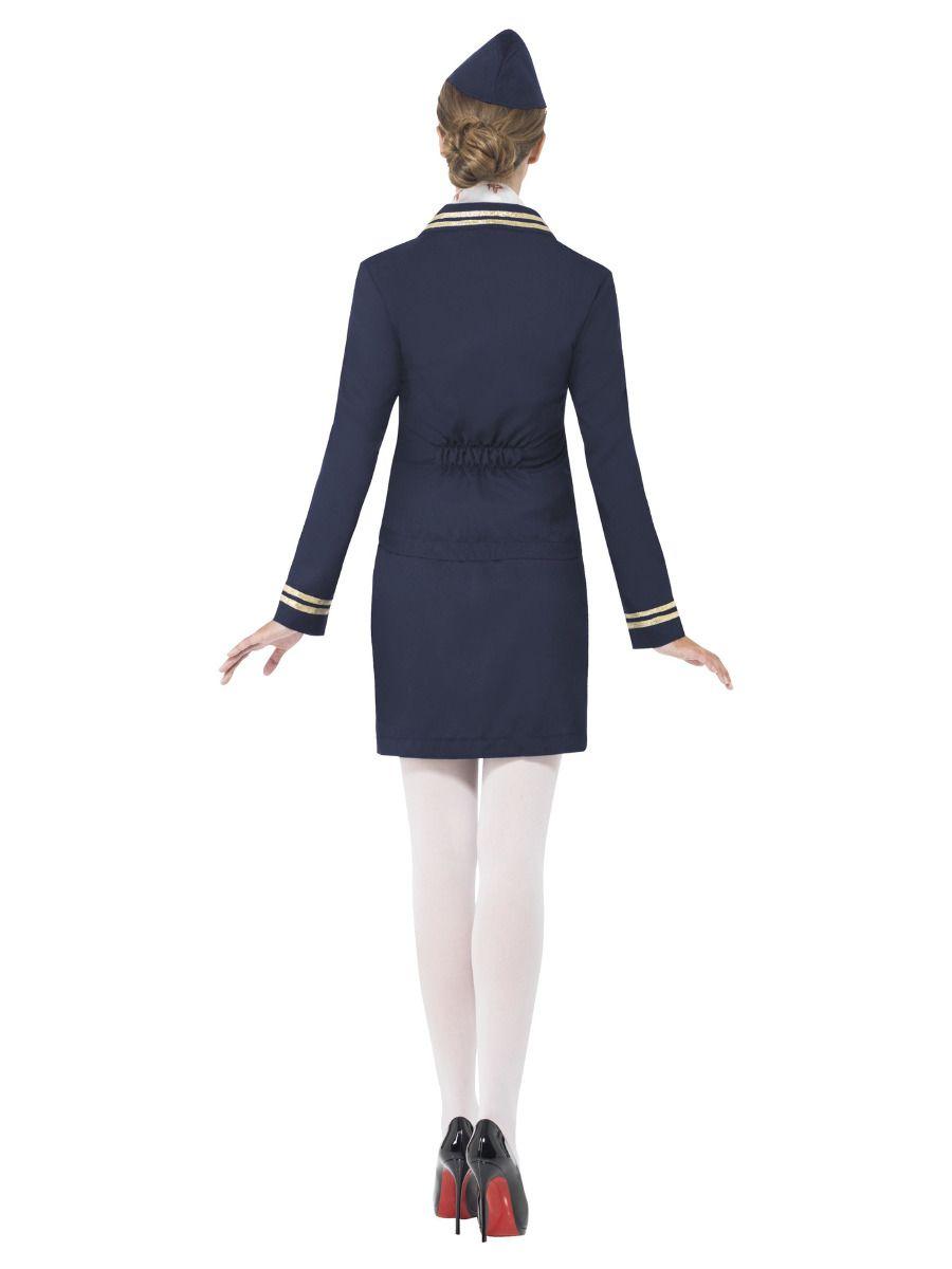 WOMAN/UNIFORMS/Airways Attendant Costume, Blue