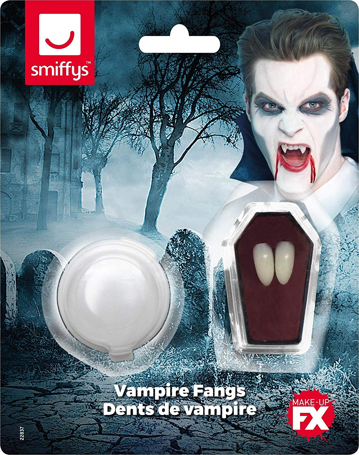 ACCESSORIES/FANGS & TEETH/dracula teeth and adhesive