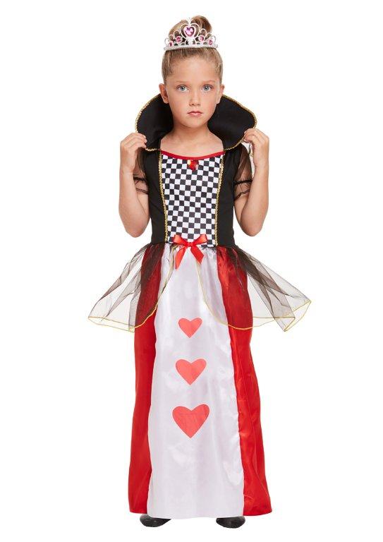 GIRLS/HISTORY/ Children's Queen of Hearts Costume