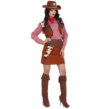 WOMAN/COWBOYS & INDIANS/COWGIRL