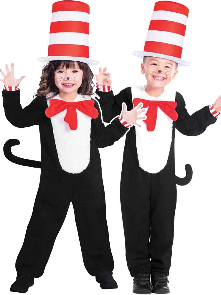 BOYS/ANIMALS/cat in the hat kids