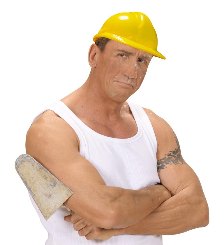 ACCESSORIES/HATS & HEADBANDS/ BUILDER HAT HARD PLASTIC