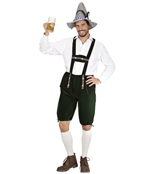 MENS/COUNTRIES/BAVARIAN MAN COSTUME (lederhosen)