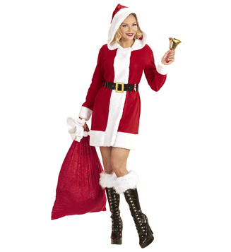 WOMAN/CHRISTMAS/MISS SANTA DRESS
