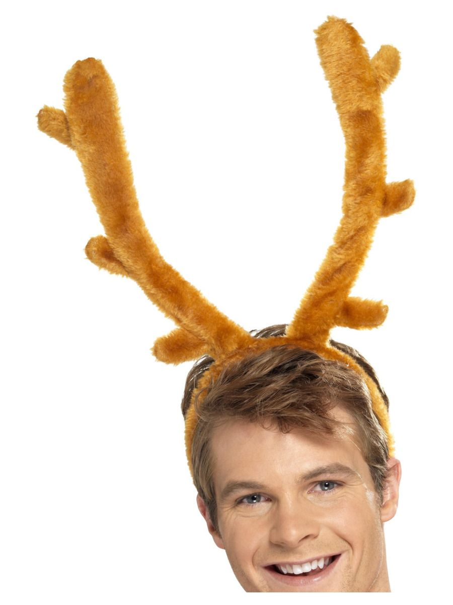 ACCESSORIES/HENS & STAGS/Stag Night Horns, Brown