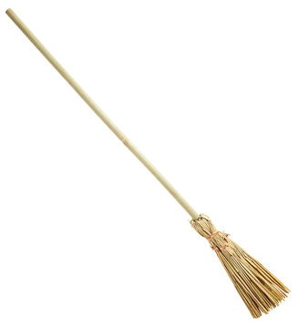 ACCESSORIES/HALLOWEEN/PROPS/OLD WITCH BROOM 107cm
