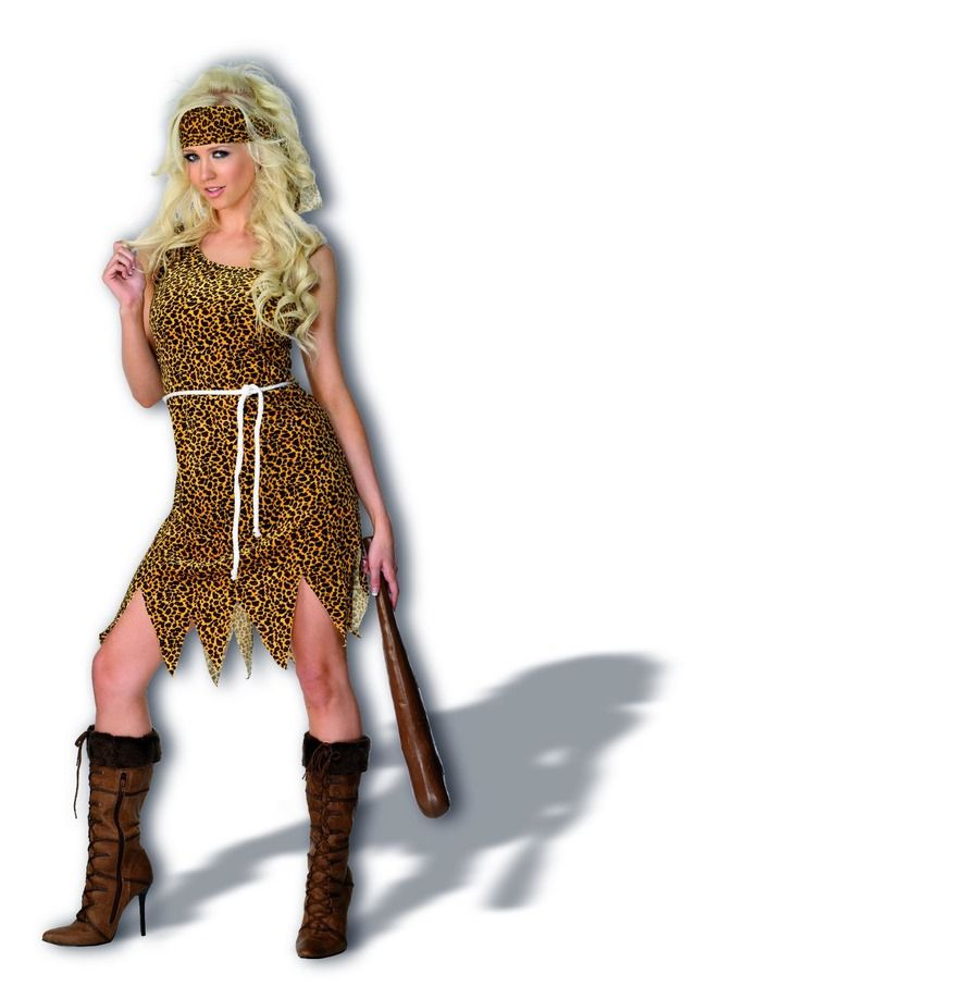 WOMAN/HISTORY/Cavewoman Costume, Brown