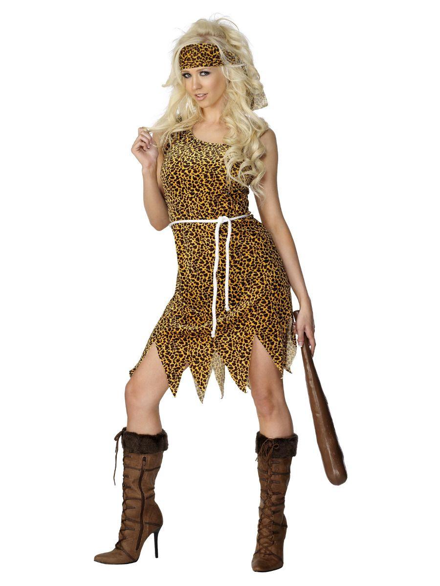 WOMAN/HISTORY/Cavewoman Costume, Brown
