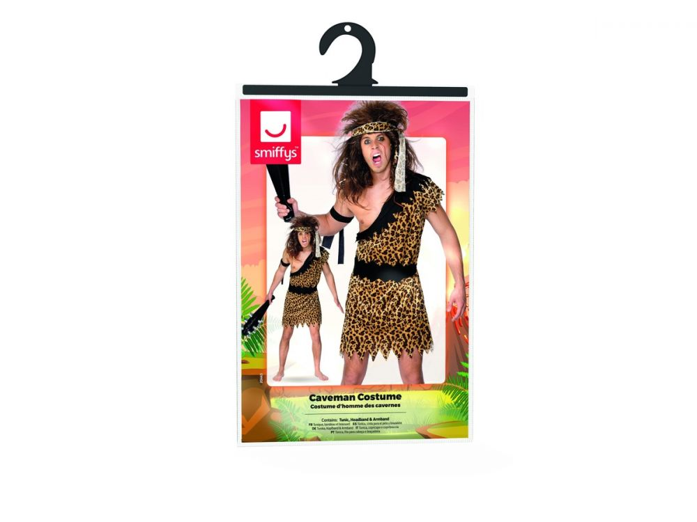 MENS/HISTORY/Caveman Costume, Brown