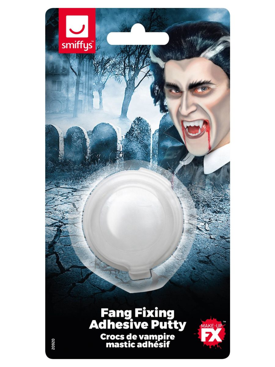 MAKEUP/FANGS & TEETH/Smiffys Make-Up FX, Fang Fixing Adhesive Putty