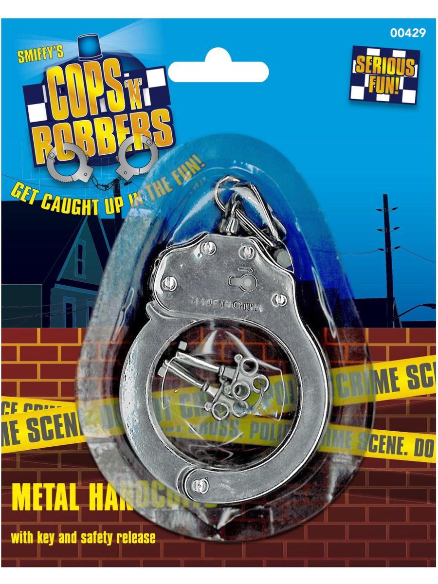 ACCESSORIES/PROPS/Metal Handcuffs