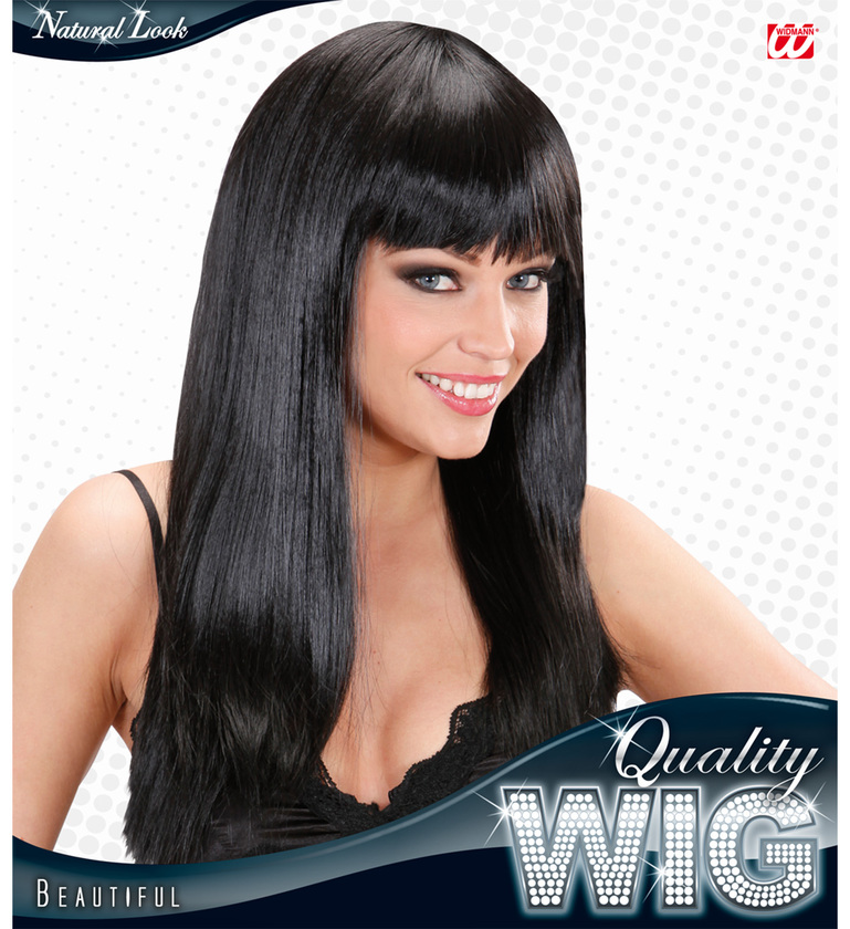 WIG/LONG/BEAUTIFUL WIG - BLACK