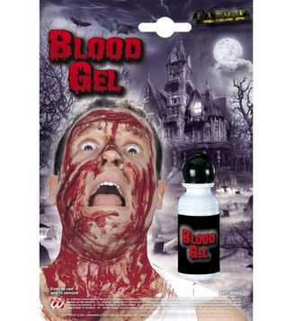 MAKE UP/SCARS & WOUNDS/BLOOD GEL BOTTLE