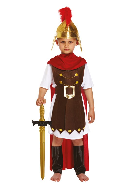 BOYS/HISTORY/ Children's Roman General Costume