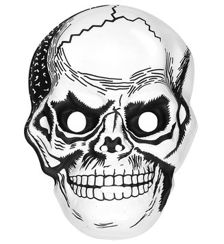 ACCESSORIES/HALLOWEEN/MASKS/SKULL MASK PLASTIC