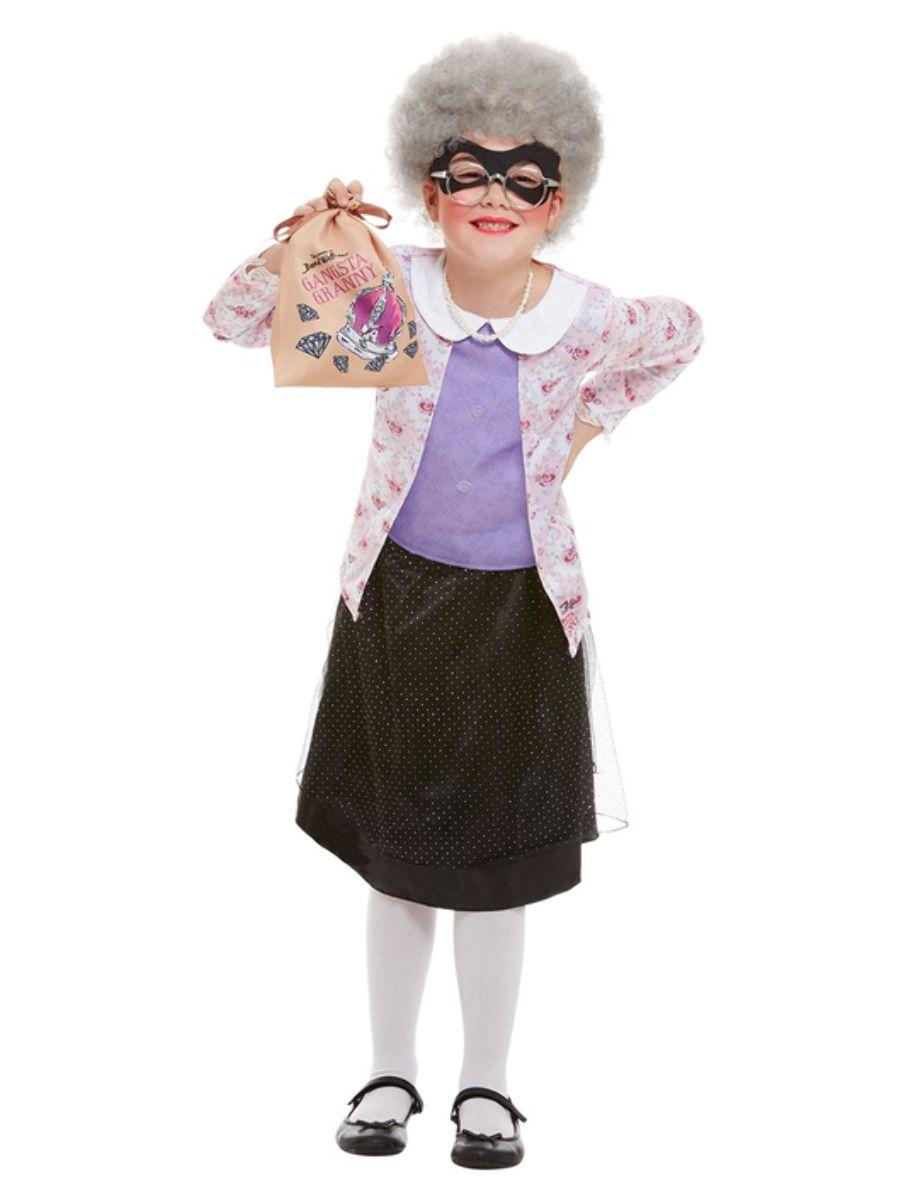 GIRLS/TV & FILM/David Walliams Deluxe Gangsta Granny Costume
