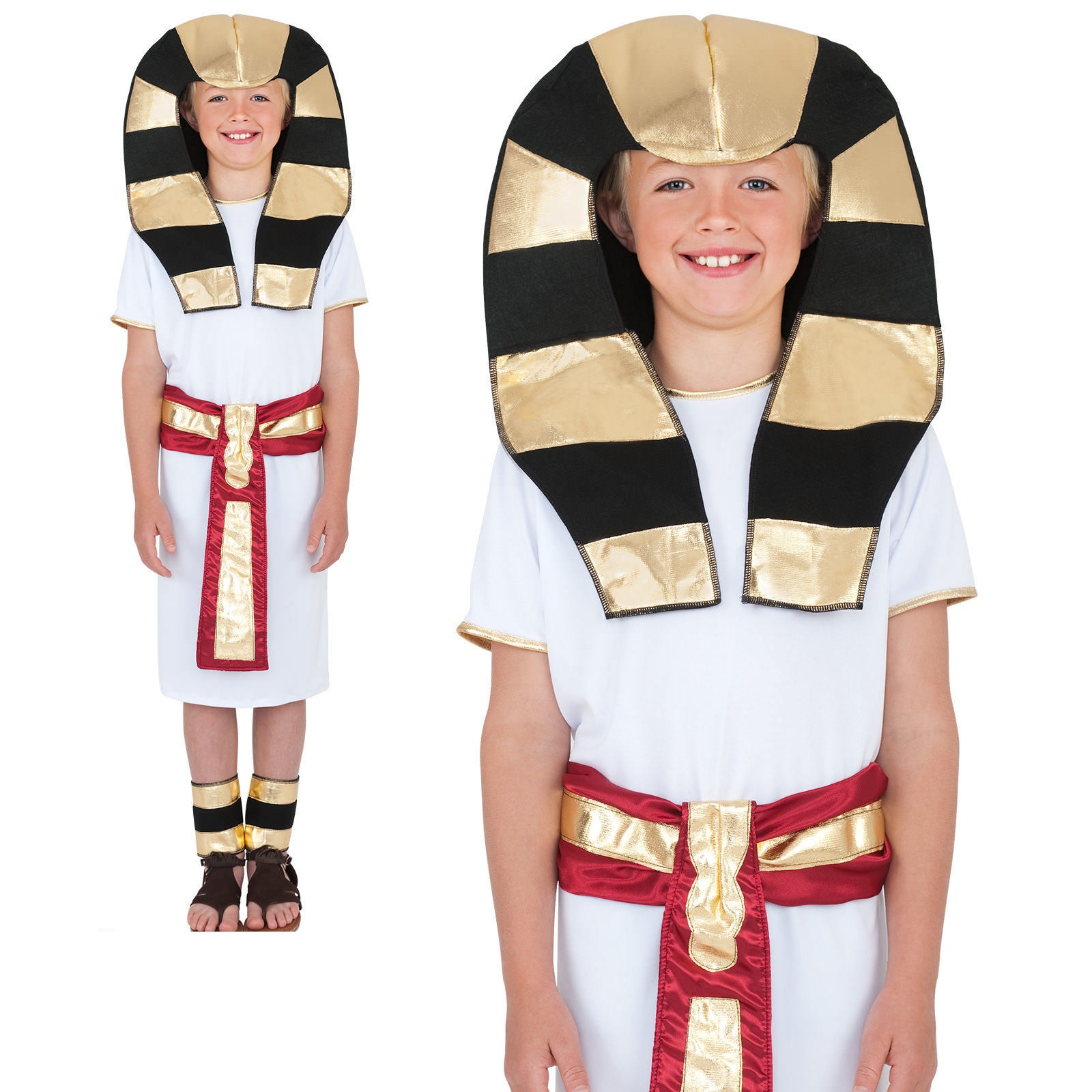 BOYS/COUNTRIES/Egyptian Costume, White
