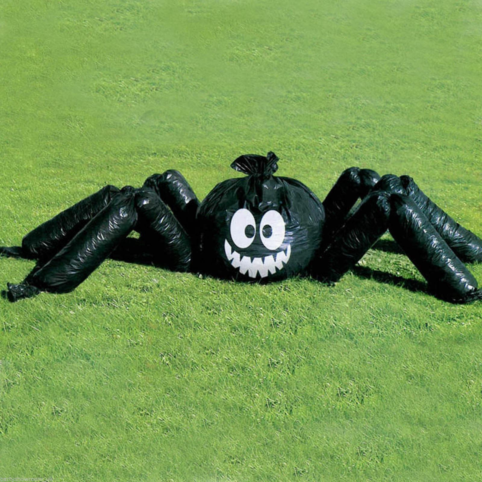 ACCESSORIES/HALLOWEEN/PROPS/JUMBO SPIDER LAWN BAG