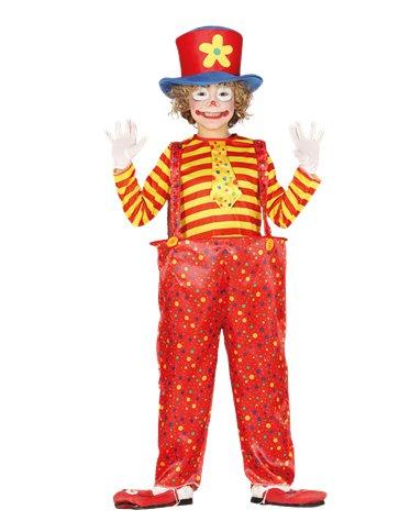 BOYS/CLOWN & CIRCUS/suitclown(7-9)-costume kids clown suit age 7-9