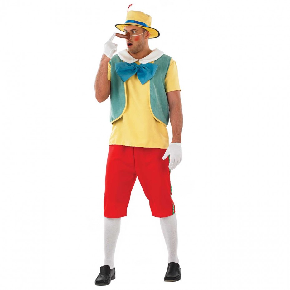 MENS/TV & FILM/MENS PINOCCHIO COSTUME