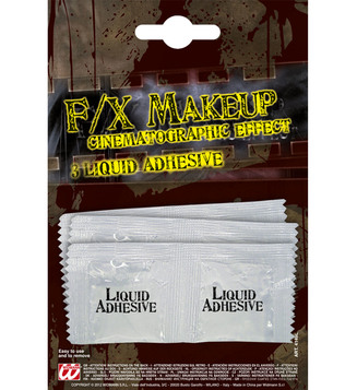 MAKE-UP/SCARS & WOUNDS/LIQUID LATEX ADHESIVE 3 SACHETS