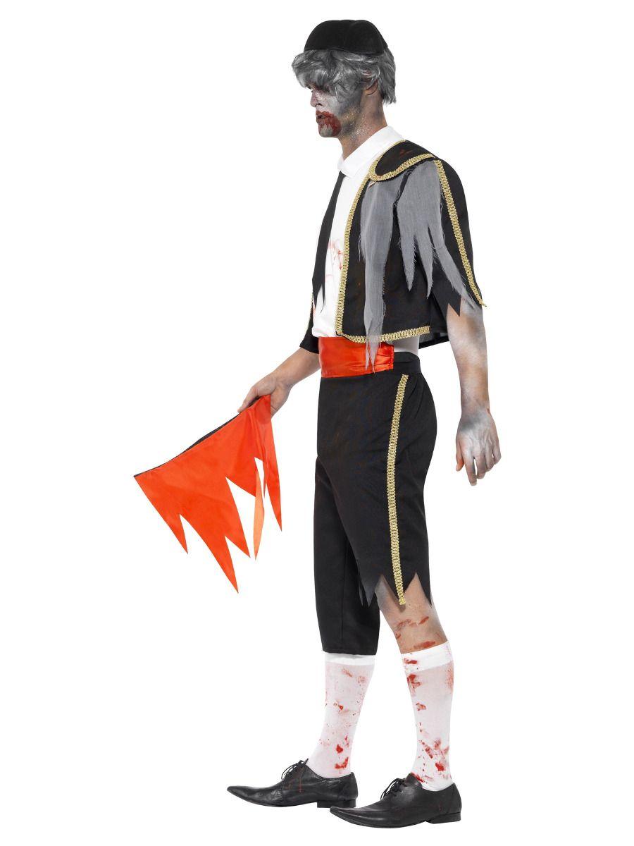 MENS/HALLOWEEN/ Zombie Matador Costume, Black