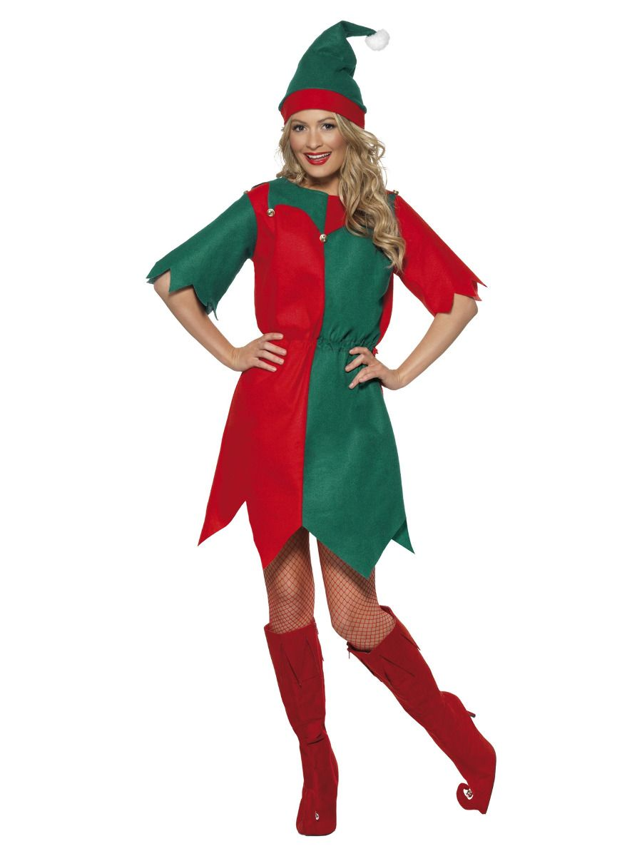 WOMAN/CHRISTMAS/ELF COSTUME