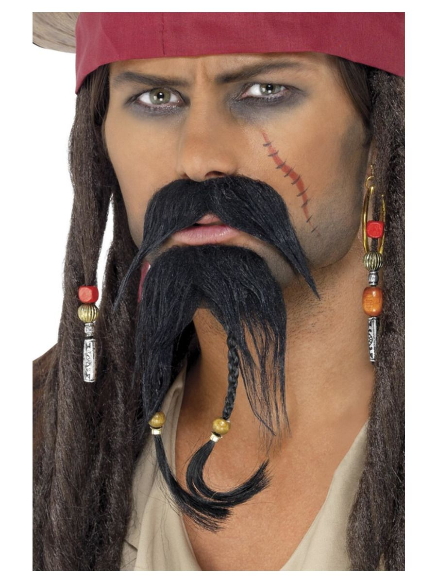 ACCESSORIES/BEARDS & MOUSTACHES/PIRATE FACIAL HAIR