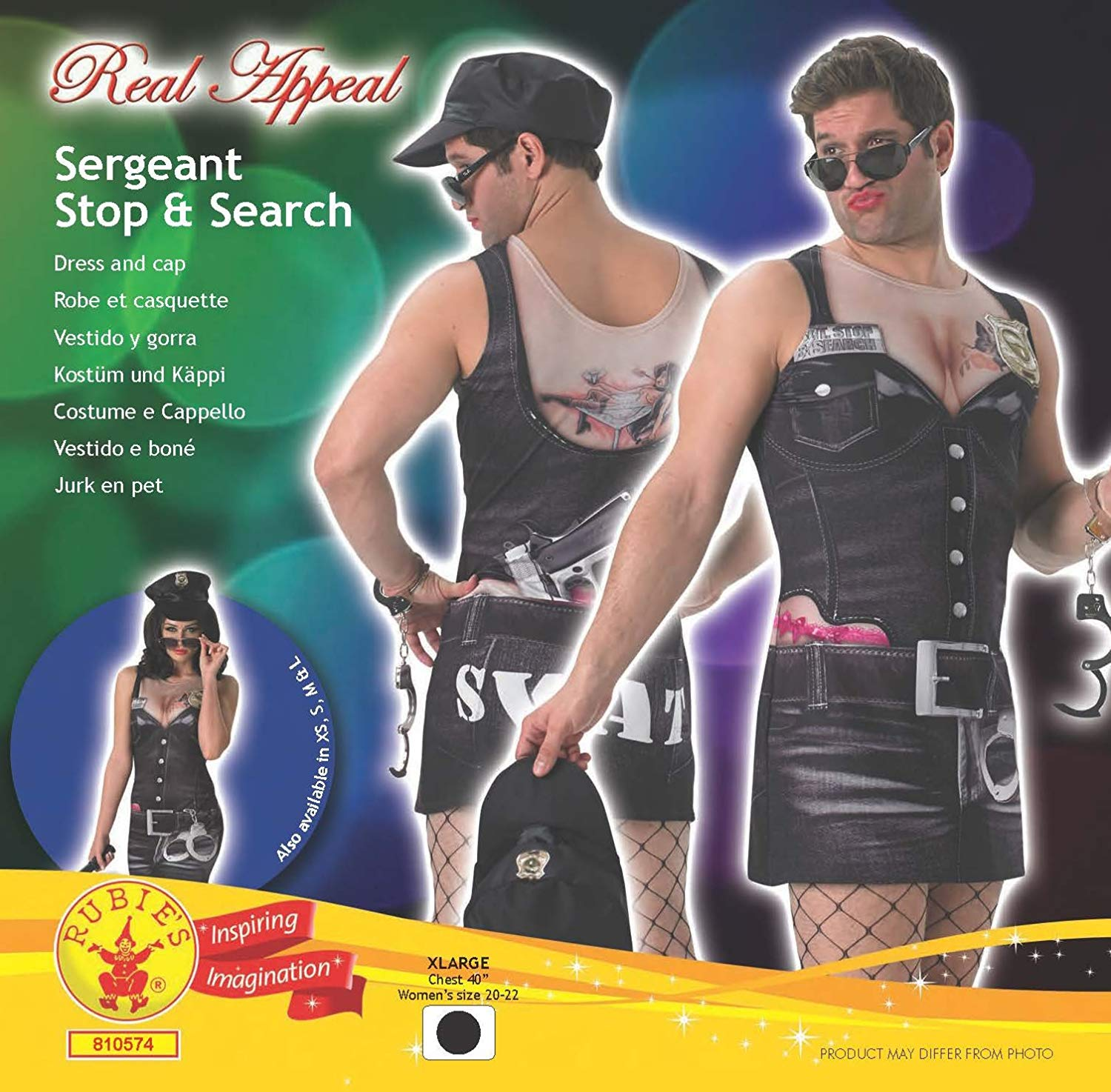 ACCESSORIES/HENS & STAGS/SGT. STOP & SEARCH