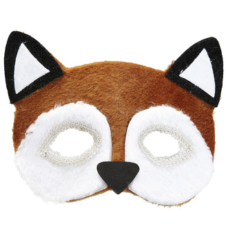 ACCESSORIES/FACE MASKS/PLUSH FOX EYEMASK