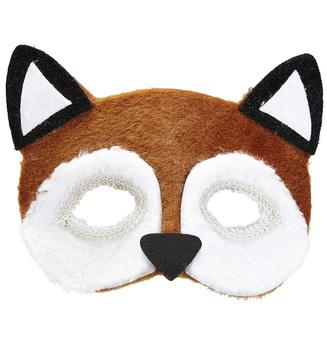 ACCESSORIES/FACE MASKS/PLUSH FOX EYEMASK