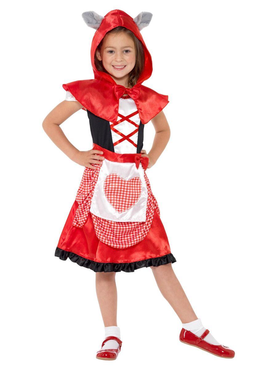 GIRLS/TV & FILM/Miss Hood Costume, Red