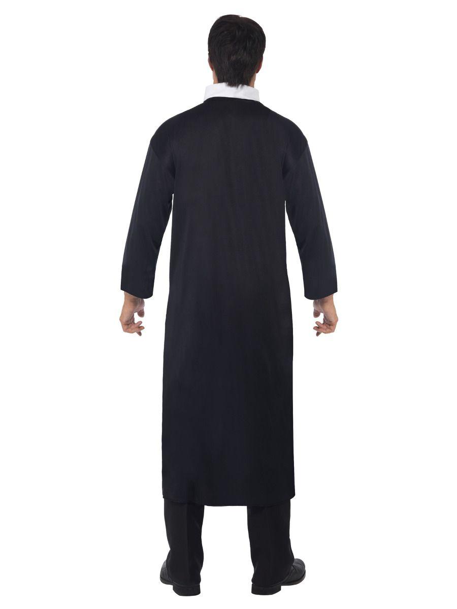 MENS/UNIFORMS/Priest Costume, Black