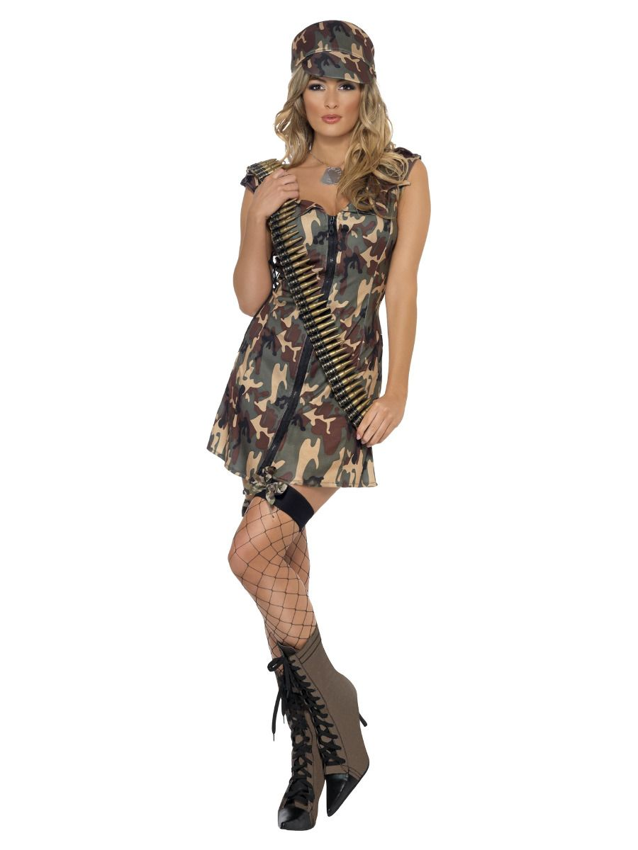WOMAN/UNIFORMS/ARMY GIRL DRESS