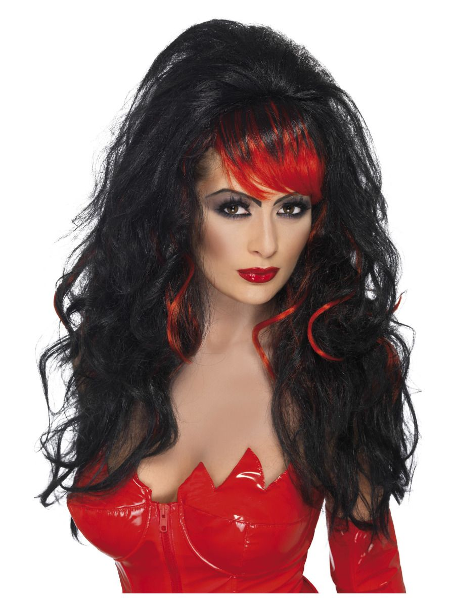 WIG/LONG/Seductress Wig, Black