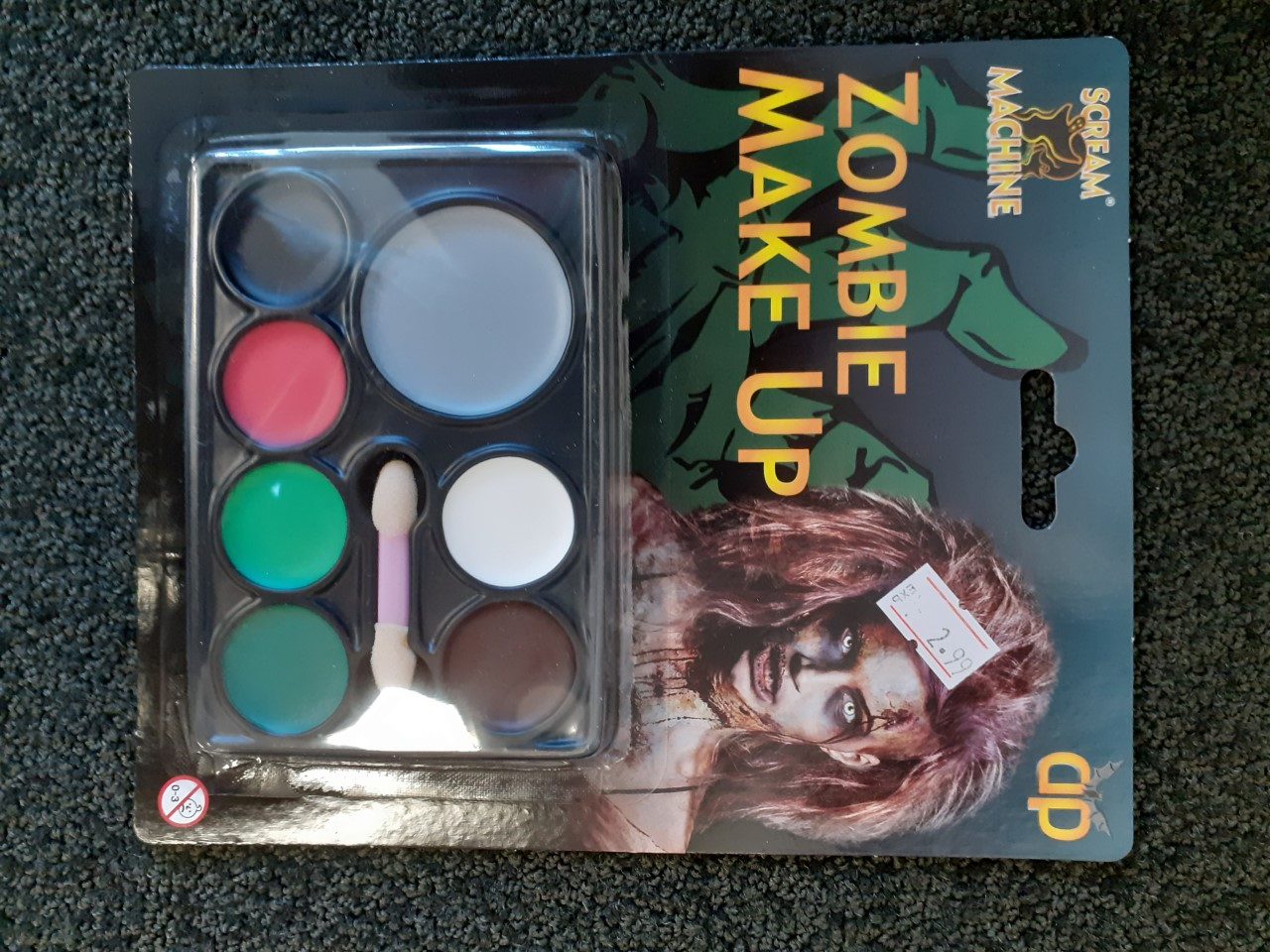 MAKEUP/FACE & BODY PAINT/Zombie Make Up