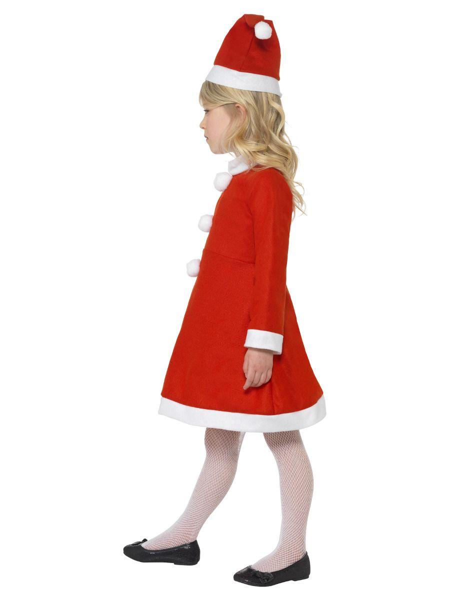 GIRLS/CHRISTMAS/ Santa Girl Costume, Red