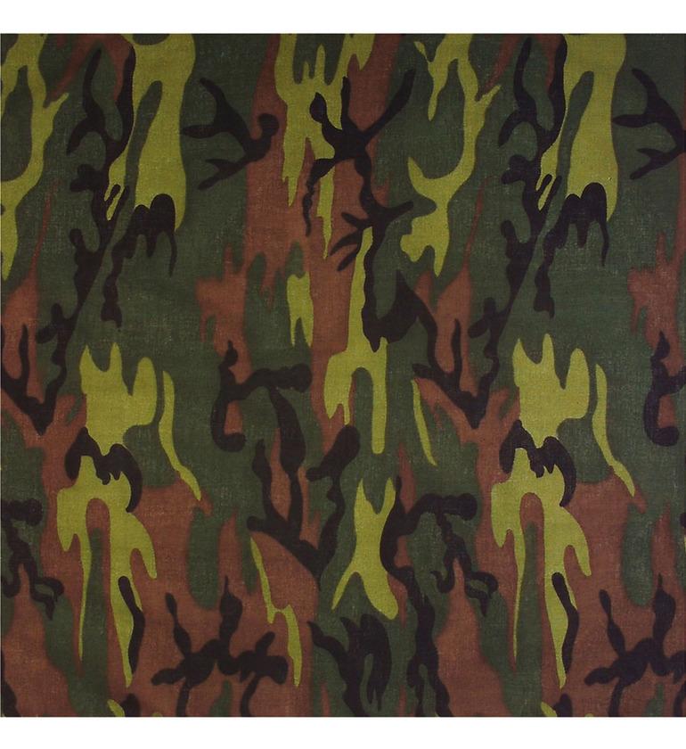 ACCESSORIES/HATS & HEADBANDS/Camouflage Bandana