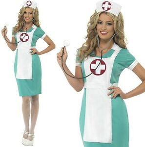 WOMAN/UNIFORMS/Scrub Nurse Costume, Green