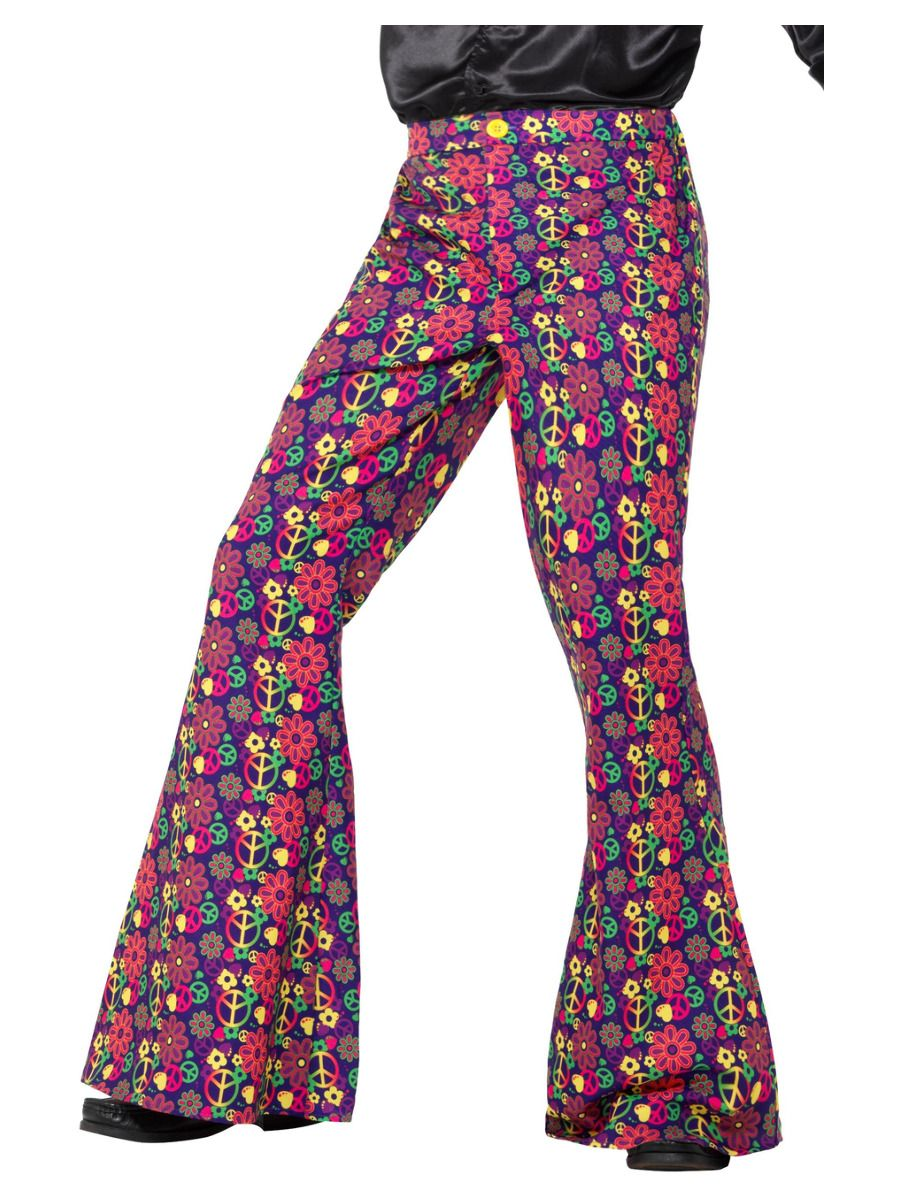 MENS/DECADES/1960S/PSYCHEDELIC FLARED TROUSERS