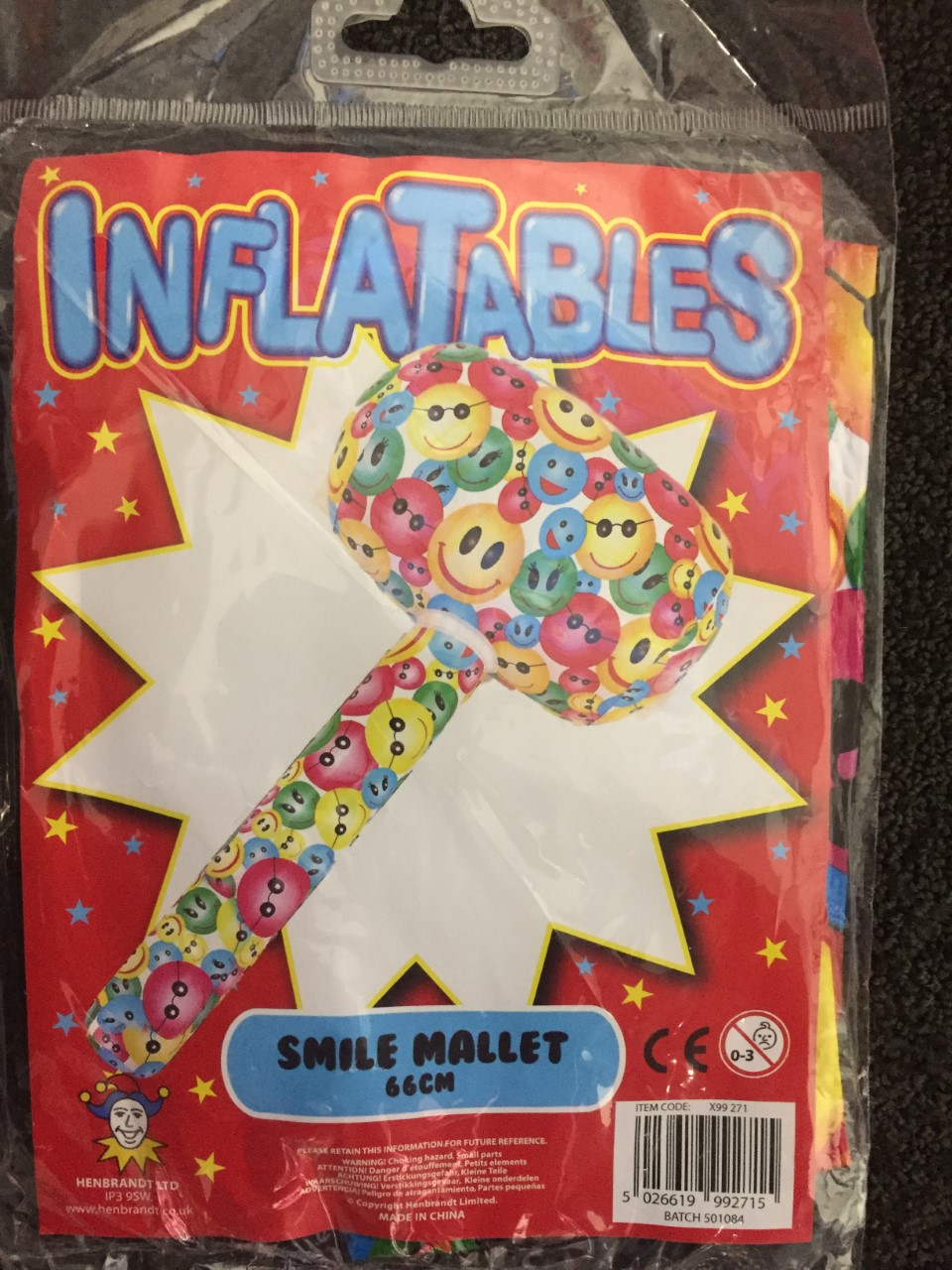 ACCESSORIES/INFLATABLES/ SMILE MALLET