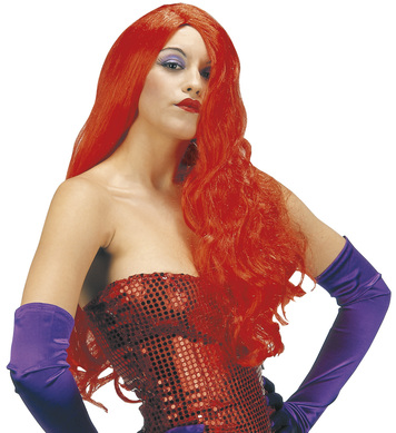 WIG/TV &FILM/JESSICA RABBIT LONG RED