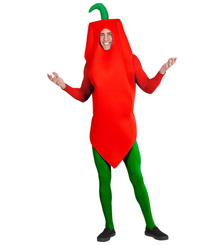 MENS/COMEDY/ CHILLI PEPPER COSTUME