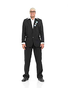 MENS/COMEDY/MENS TV COMIC PINSTRIPE SUIT COSTUME