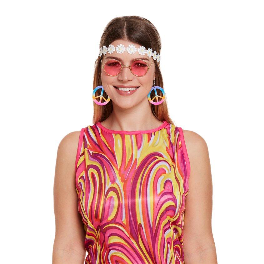 ACCESSORIES/GLASSES/HIPPY KIT FLOWER HEADBAND EARRINGS